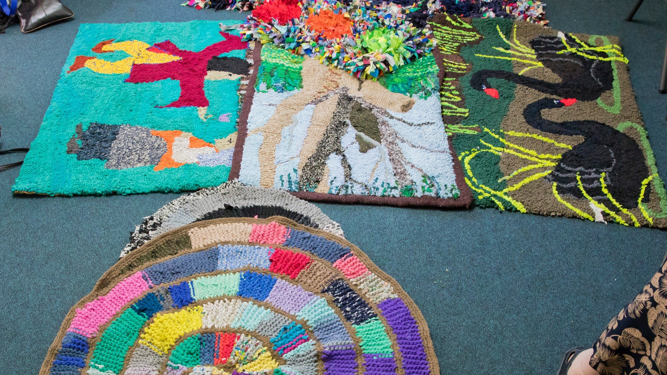 Seniors Week Rag Rug Workshop at Mitchelton