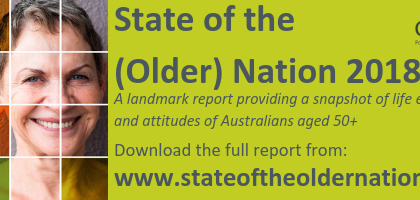 State of the (Older) Nation – COTA report